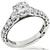 Tacori GIA 1.04ct Diamond Gold Engagement Ring