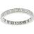 Antique Art Deco 1.00ct Round Brilliant Diamond Eternity  Platinum Wedding Band