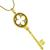 Tiffany  Diamond Gold Key Pendant | Israel Rose