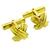 Estate 1992 Schlumberger Tiffany & Co. 18k Yellow Gold Cufflinks