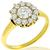 Victorian 0.51ct Diamond Gold Ring
