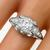 Antique Art Deco GIA Certified 1.55ct Circular Brilliant Diamond Platinum Engagement Ring