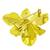 1.05ct Diamond Gold Orchid Flower Pin | Israel Rose