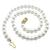 Mikimoto Pearl Gold Clasp Necklace l Israel Rose