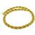 Estate 18k Yellow Gold Weave Mesh Necklace