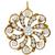 Antique Victorian 0.70ct Cushion Center And 1.50ct Old Mine Brilliant Diamond Pearl 14k Rose Gold Swirl Pin/Pendant