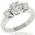 1.01ct Diamond Gold Engagement Ring
