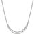 Estate 3.00ct Round Brilliant Diamond Platinum Necklace