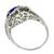 2.55ct Sapphire 0.52ct Diamond Gold Ring | Israel Rose