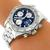 Estate Breitling Chronograph Automatic Stainless Steel Men's Watch