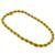 1960s 2 Tone Gold Rope Necklace | Israel Rose