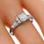 Antique Art Deco GIA Certified 0.55ct Old European Brilliant Diamond Platinum Engagement Ring