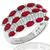 1.50ct Ruby 0.90ct Diamond Gold Ring