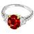 3.02ct Burmese Ruby 0.70ct Diamond Ring | Israel Rose