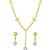 Roberto Coin 1.25ct Diamond Gold Necklace & Earrings Set| Israel Rose