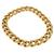 Estate 14k Pink Gold Figaro Tubular Chain Necklace