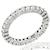 1.00ct Diamond Gold Eternity Wedding Band