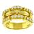 Estate 1992  Tiffany & Co 0.95ct Round Cut Diamond 18k YEllow Gold Ring