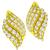 Estate 5.66ct Round Brilliant Diamond 18k Yellow Gold Earrings
