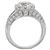 18k Gold 3.04ct Diamond Art Deco Engagement Ring