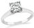 Estate 0.60ct Diamond Solitaire Engagement Ring