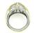 Platinum 18k Yellow Gold Diamond Ring