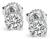 Estate 1.34ct Diamond Stud Earrings