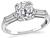 Estate 1.63ct Diamond Engagement Ring