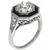 1.72ct Diamond Art Deco Engagement RIng