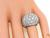 Round Cut Diamond Platinum Ring