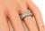Round Cut Diamond 18k White Gold Eternity Wedding Band