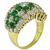 Diamond Emerald Gold Ring