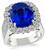 Estate 6.45ct Sapphire 1.75ct Diamond Ring