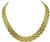 Estate Cartier Gold Panther Link Necklace