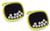 Estate Chopard 1.00ct Diamond Gold Happy Diamonds Cufflinks