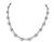 Estate 3.00ct Diamond White Gold Necklace