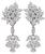 Estate 14.00ct Diamond Day and Night Earrings