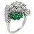 1.90ct Diamond Emerald Cocktail Ring