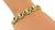 Round Cut Diamond 14k Yellow Gold Bracelet