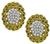 Estate 0.80ct Diamond Gold Earrings