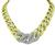 Estate 6.00ct Diamond Two Tone Gold Necklace