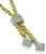 Estate 1.75ct Diamond Gold Necklace