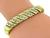 Estate Round Cut Diamond 18k Yellow Gold Bracelet by Jose Hess