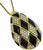 Estate 2.00ct Diamond Onyx Gold Pendant Necklace