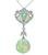 Estate 0.50ct Diamond Opal Pendant Necklace
