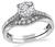 Tacori GIA Cert 0.79ct Diamond Engagement Ring