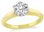 Estate GIA Certified 0.98ct Diamond Solitaire Engagement Ring