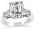Estate GIA Certified 3.30ct Diamond Engagement Ring