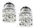 Estate GIA Certified 2.00cttw Diamond Stud Earrings