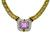 Kunzite Diamond Necklace